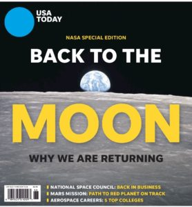 USA Today Article - Back to the Moon