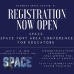 Register for SPACE: Space Port Area Conference for Educators