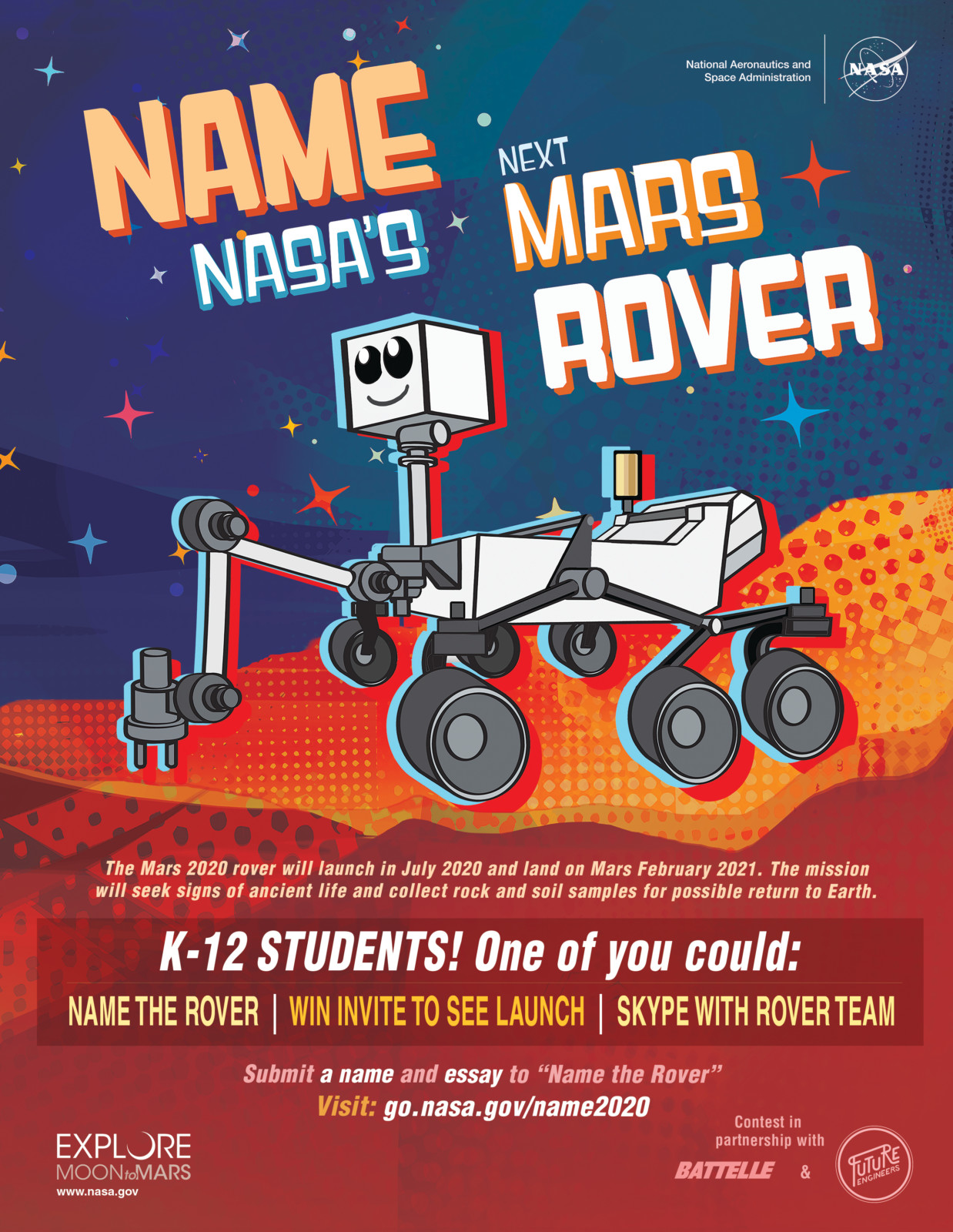 Name the Rover Flyer