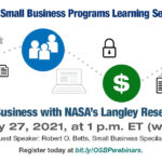 Webinar: How to Do Business with NASA's Langley Research Center