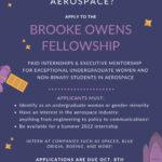 Brooke Owens Fellowship Program - Class of 2022